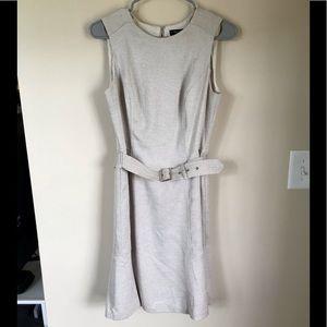 WHBM Belted Linen Dress